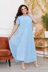 Платья женские БАТАЛ оптом 47651839  144-1