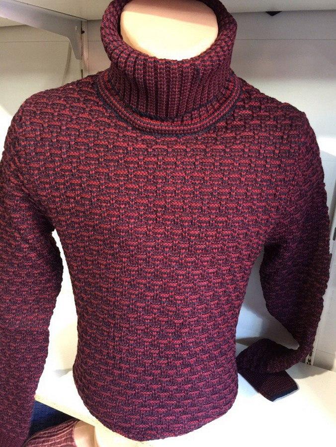 Мужские свитера с хомутом Турция оптом 53706492 001-2