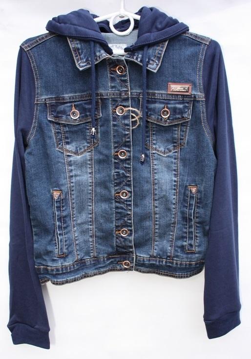 Куртки джинсовые женские оптом 97083461 937