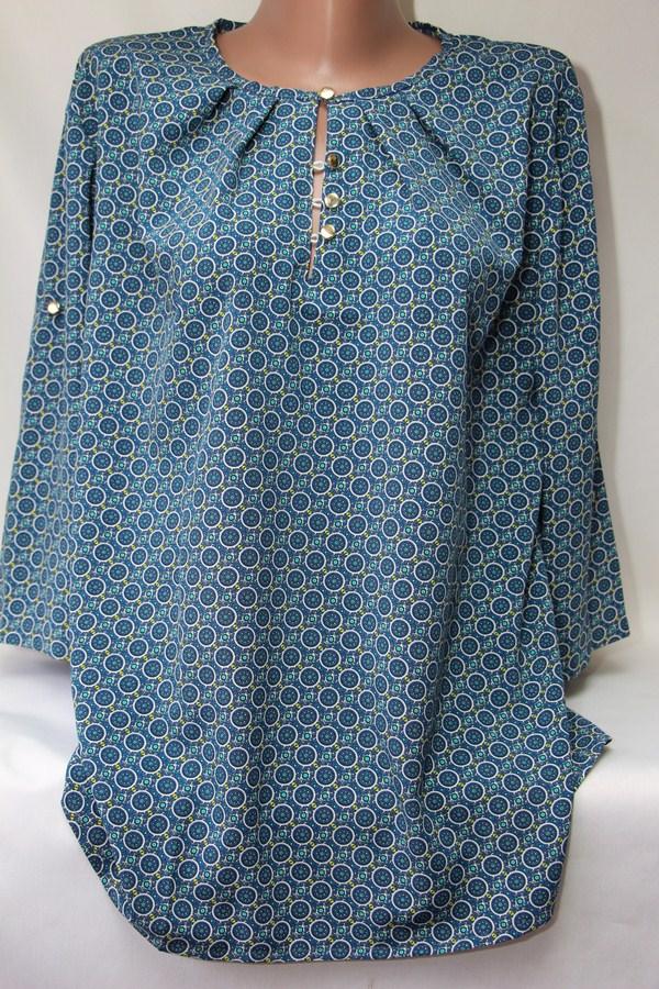 Блуза женская батал оптом  20033001 6099-59