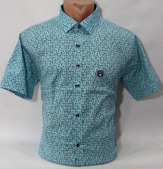 Рубашки мужские Турция оптом 94230175 1682-7