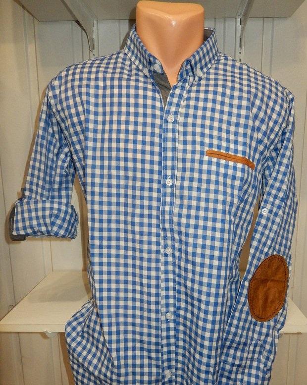 Рубашки мужские полу батал оптом 13081830 5210-1