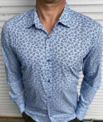 Рубашки мужские БАТАЛ FMT оптом 47361859 05-87