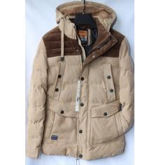 Куртка мужская зимняя оптом Китай 2909223 E66-2
