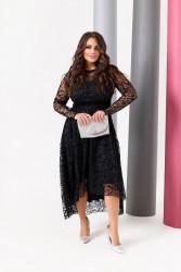 Платья женские БАТАЛ оптом 90135847 9780-8