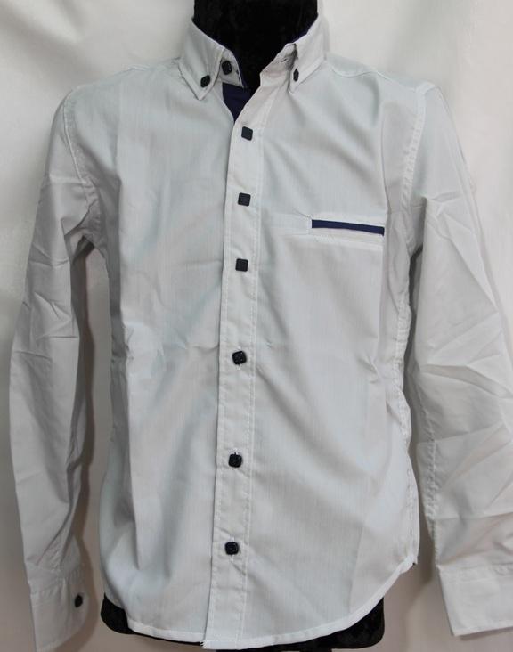 Рубашки подростковые  оптом 49371650 4629-136