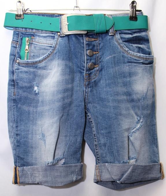 Джинсовые шорты женские LOLOBLUES оптом 49637150 2502