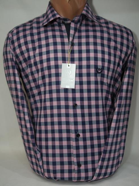 Рубашки мужские Турция оптом  11094721 003-31