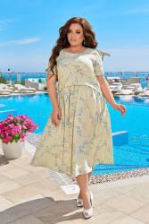 Платья женские БАТАЛ оптом 20485761 01-1