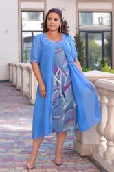 Платья женские БАТАЛ оптом 27109643  04-8