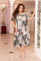 Платья женские БАТАЛ оптом 97243651 06-13