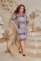 Платья женские БАТАЛ оптом 37904251    03-1