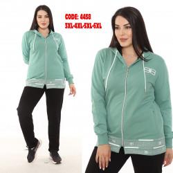 Спортивные костюмы БАТАЛ женские оптом 65742093 4458-5