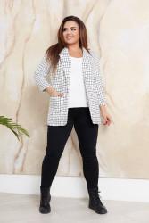 Пиджаки женские БАТАЛ оптом 57190862 14 -7