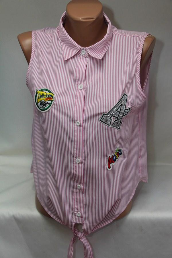 Рубашки женские оптом 18031056 45-1