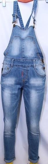 Комбенизоны женские джинсовые оптом 86052397 8724