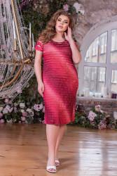 Платья женские БАТАЛ оптом 63048125 03 -5