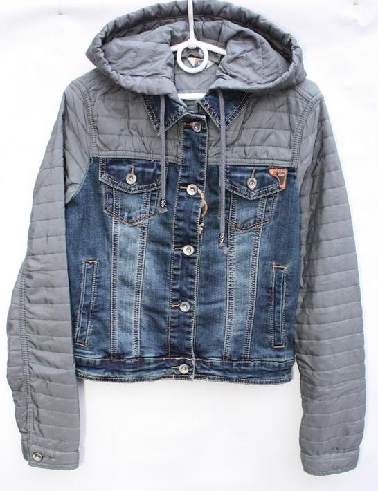 Куртки джинсовые женские оптом   54729613 939-2