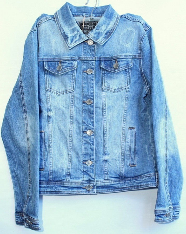 Куртки джинсовые женские DIMONI оптом 03784612 1081