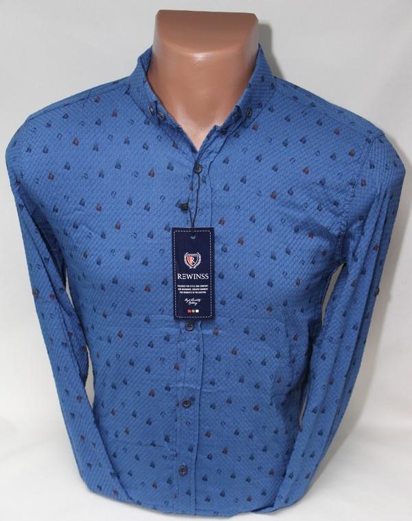 Рубашки мужские  оптом 34719068 9331-21