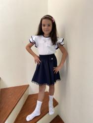 Блузки детские оптом 94156270 206-6