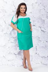 Платья женские БАТАЛ оптом 02739165  015-2