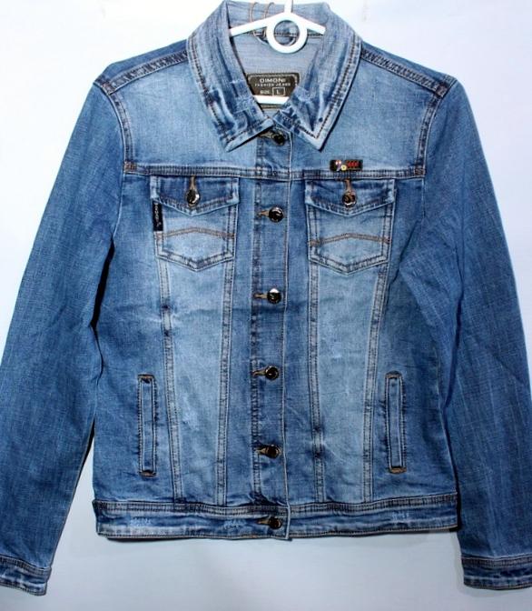 Куртки джинсовые женские DIMONI оптом 79813640 1078