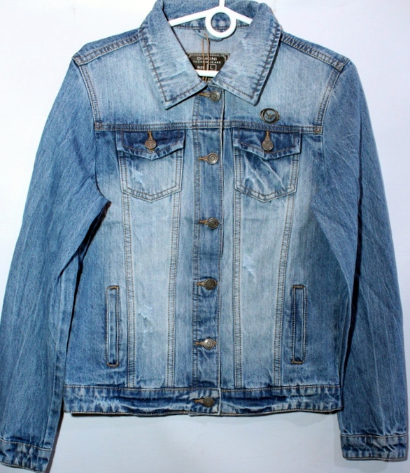 Куртки джинсовые женские DIMONI оптом 76125908 1077
