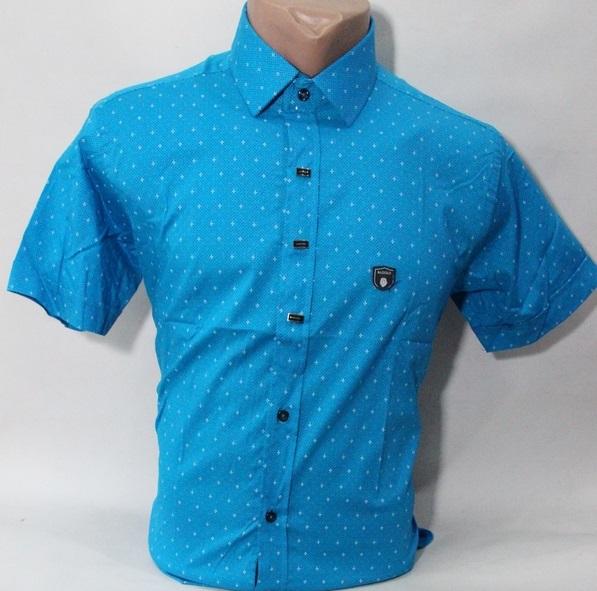 Рубашки мужские Турция оптом 60548712 1678-5