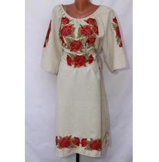 Платье вышитое женское оптом 1307782 004