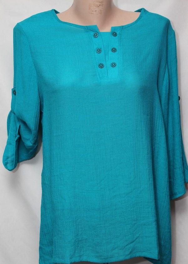 Блуза женская БАТАЛ  оптом 18021410 225