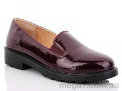 Туфли, Коронате оптом 7172-17 bordo