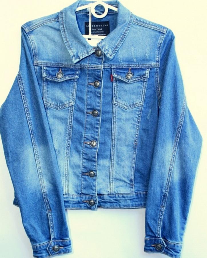 Куртки джинсовые женские DIMONI оптом 59073421 9003