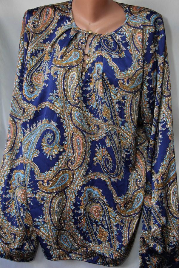 Блузы женские БАТАЛ оптом 28023001 6-1