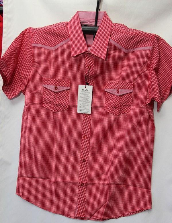 Рубашки мужские Турция оптом 2004523 3636-13