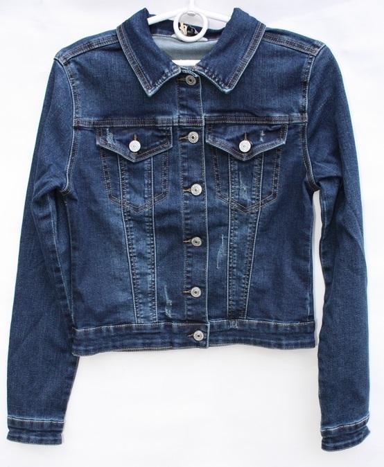 Куртки джинсовые женские оптом 32167498 8703