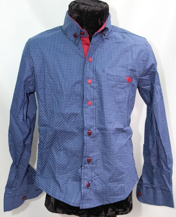 Рубашки подростковые  оптом 04759163 6445-153