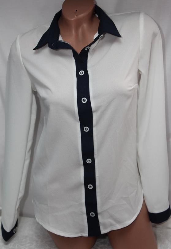 Рубашки женские оптом 2507544 8958-2