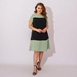 Платья женские БАТАЛ оптом 37841602  85-2