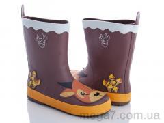 Резиновая обувь, Class Shoes оптом HMY4 коричневый