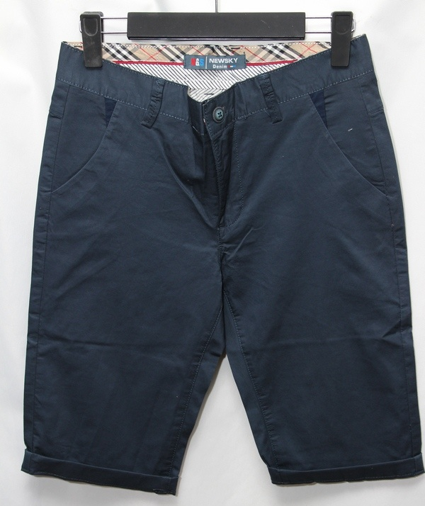 Шорты джинсовые юниор оптом 93417862 232