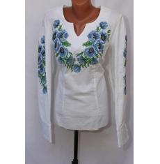Вышитое платье женское оптом 1307782 016