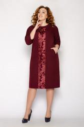 Платья женские БАТАЛ оптом 89027163   250478-2