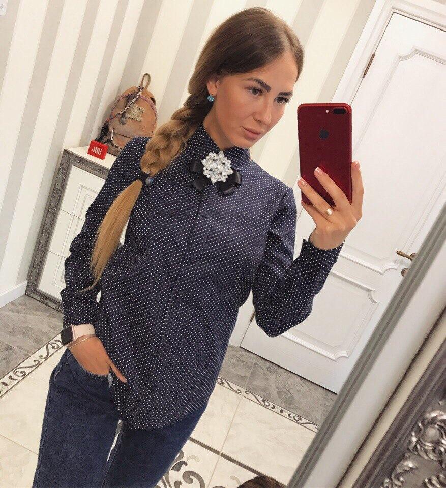 Рубашки женские оптом 17083183 03-26