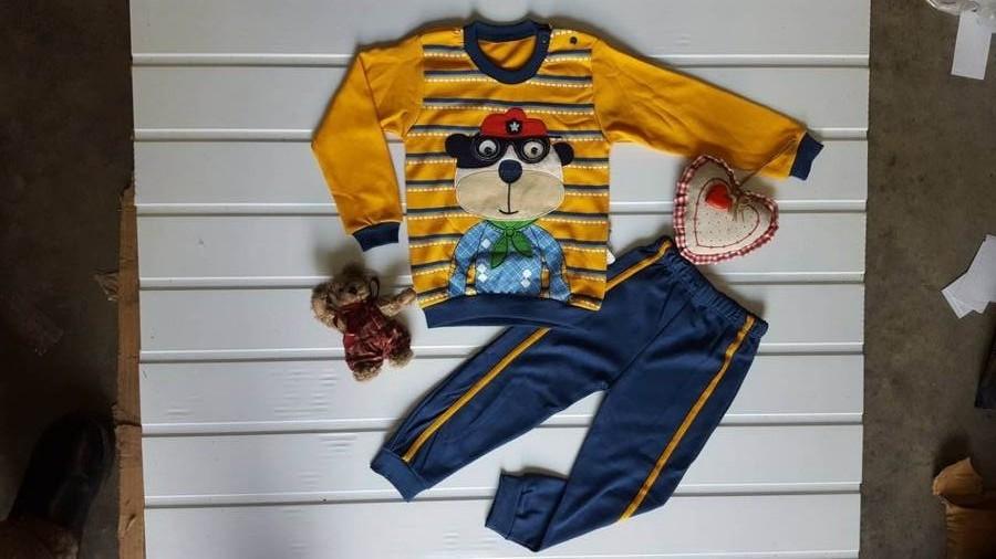 Ночные пижамы детские оптом 59603147 2-18