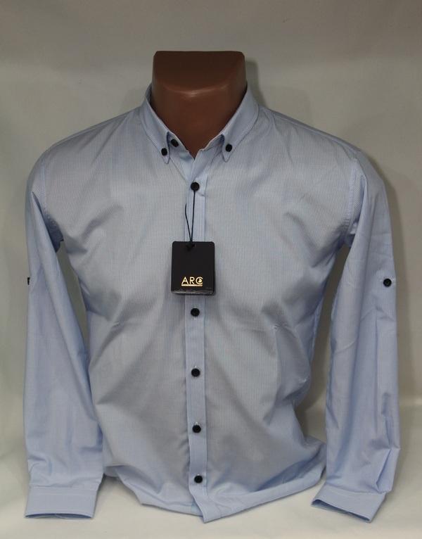 Рубашки подростковые оптом 63092478 9295-2