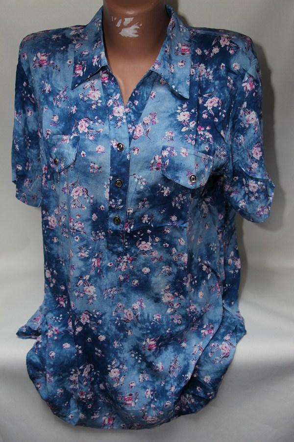 Рубашки женские оптом 2103651 6129-2