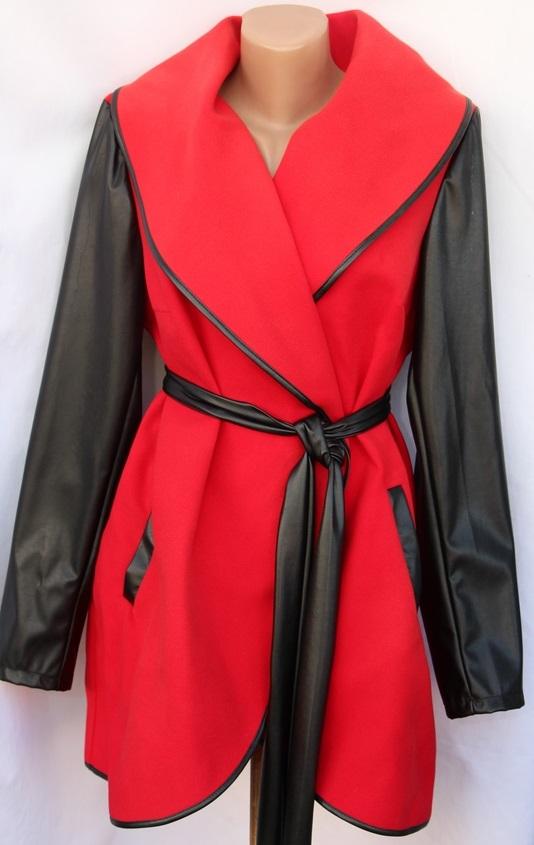 Пальто женское полубатал оптом 60415387 007-1-3