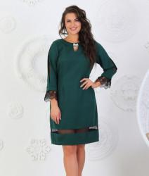 Платья женские БАТАЛ оптом 57162489 17088-1