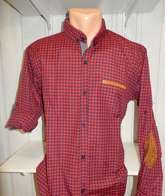 Рубашки мужские полу батал оптом 13081830 5210-2